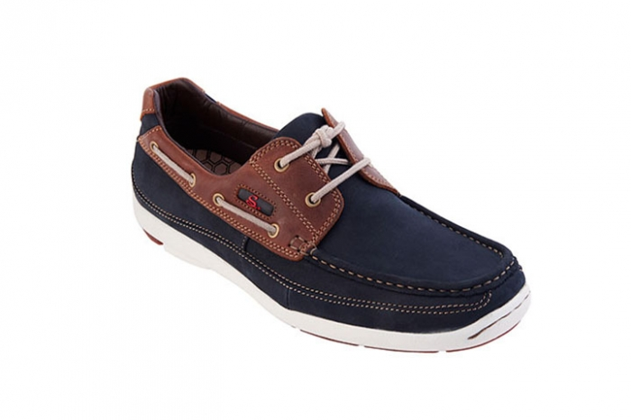 Caba Navy with Brown
