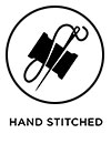 Hand stitched